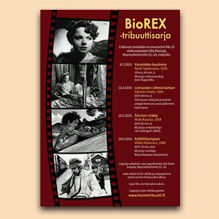 Bio Rex -tribuuttisarjajuliste