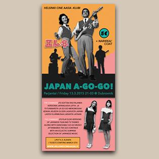 Japan A-Go-Go! -tapahtumajuliste