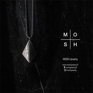 MOSH Jewelry -postikortti