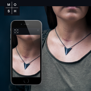 MOSH Jewelry -kotisivu ja verkkokauppa