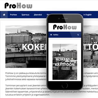 ProHow-kotisivu