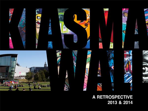 Suunnitteilla oleva Kiasma Wall 2013-14 -kirja, kansi