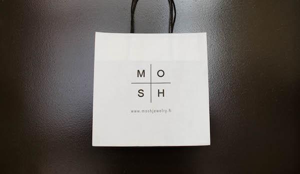 MOSH Jewelry -paperikassi