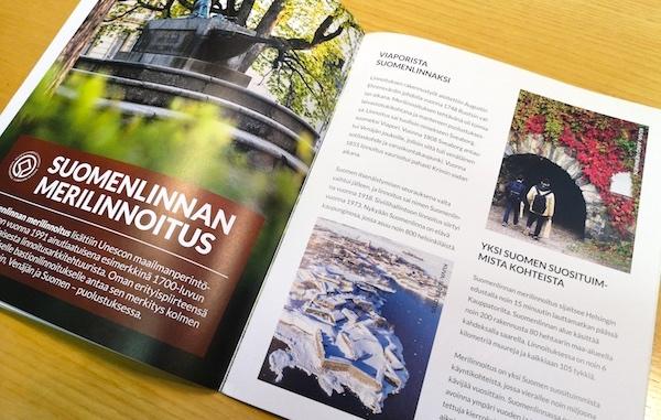 Aukeama esittelee Suomenlinnan merilinnoitusta