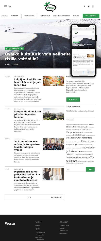 Versuslehti.fi-etusivu